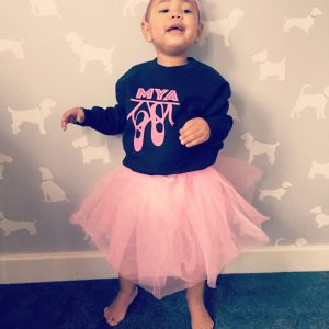 Personalised Ballet Shoes Sweater