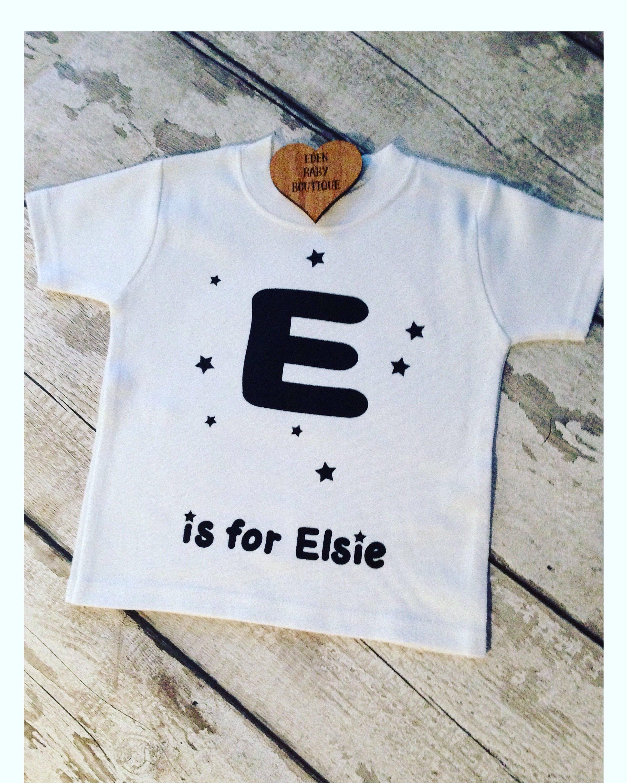 Alphabet Name T shirt