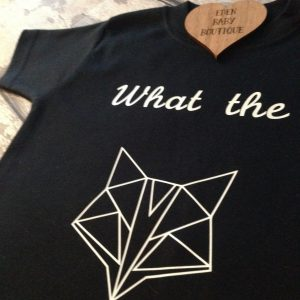 What the fox tshirt