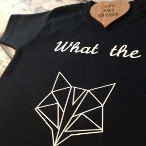 What the fox tshirt