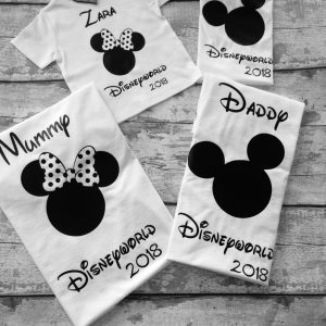 Disney inspired family Tshirts