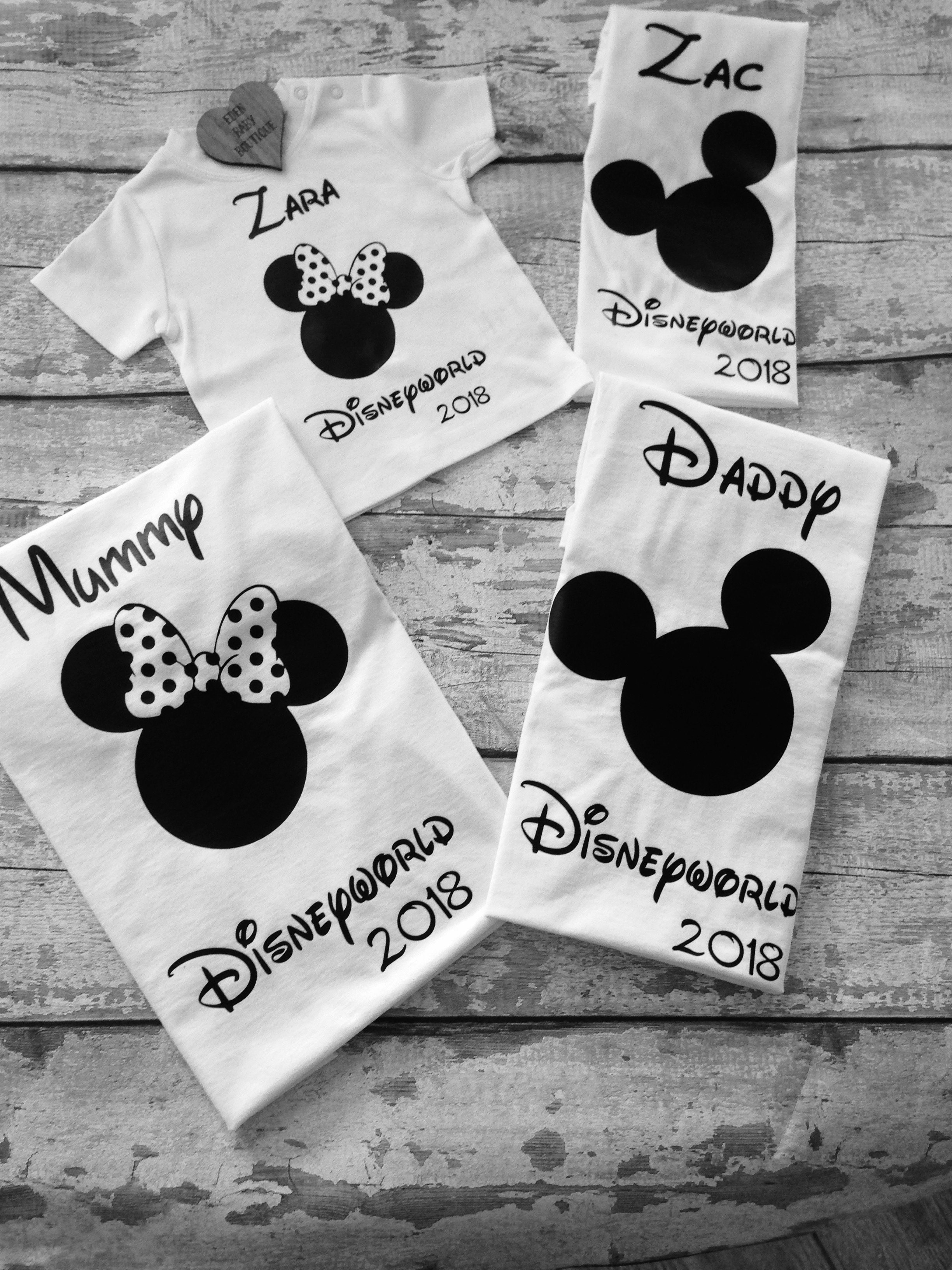 Disney inspired family Tshirts