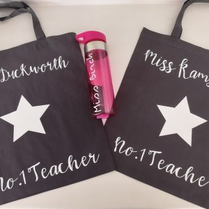 Teacher tote bag - personalised