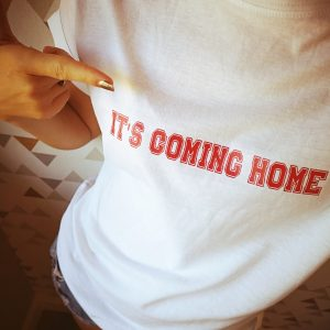 It's coming home England personalised Tshirt