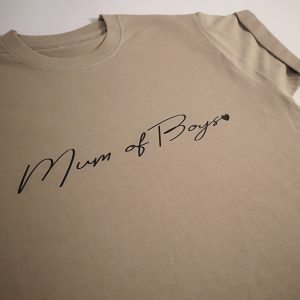 Mum of Boys signature t-shirt