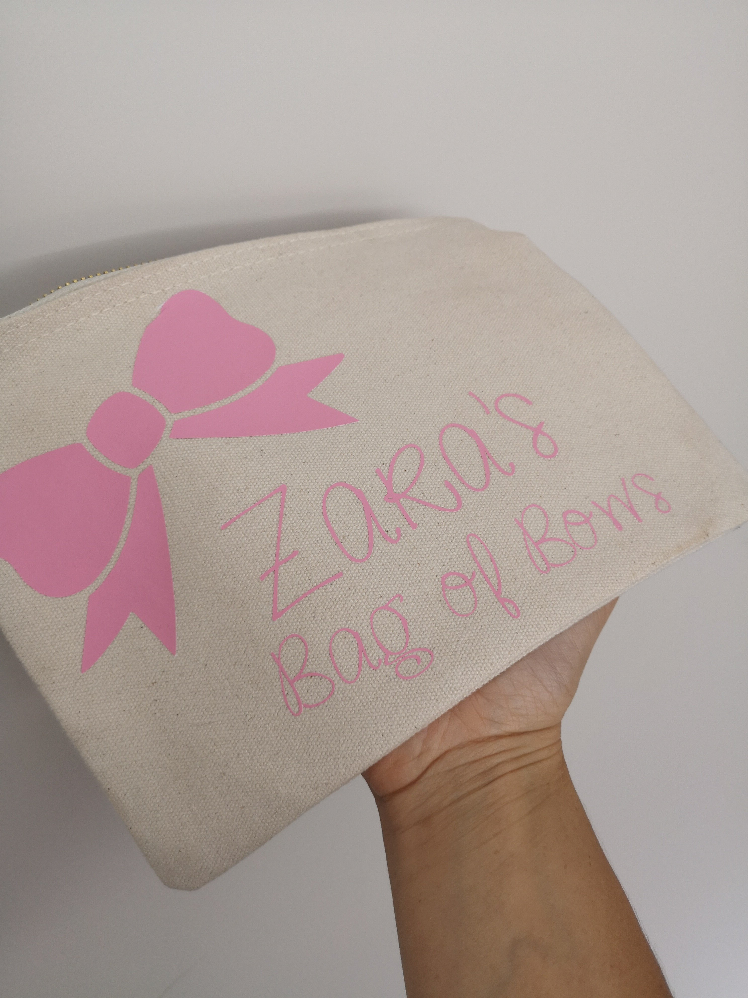 Bow Bag - Personalised