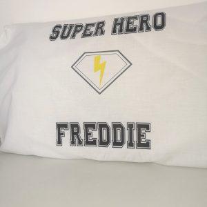 Super Hero pillow case