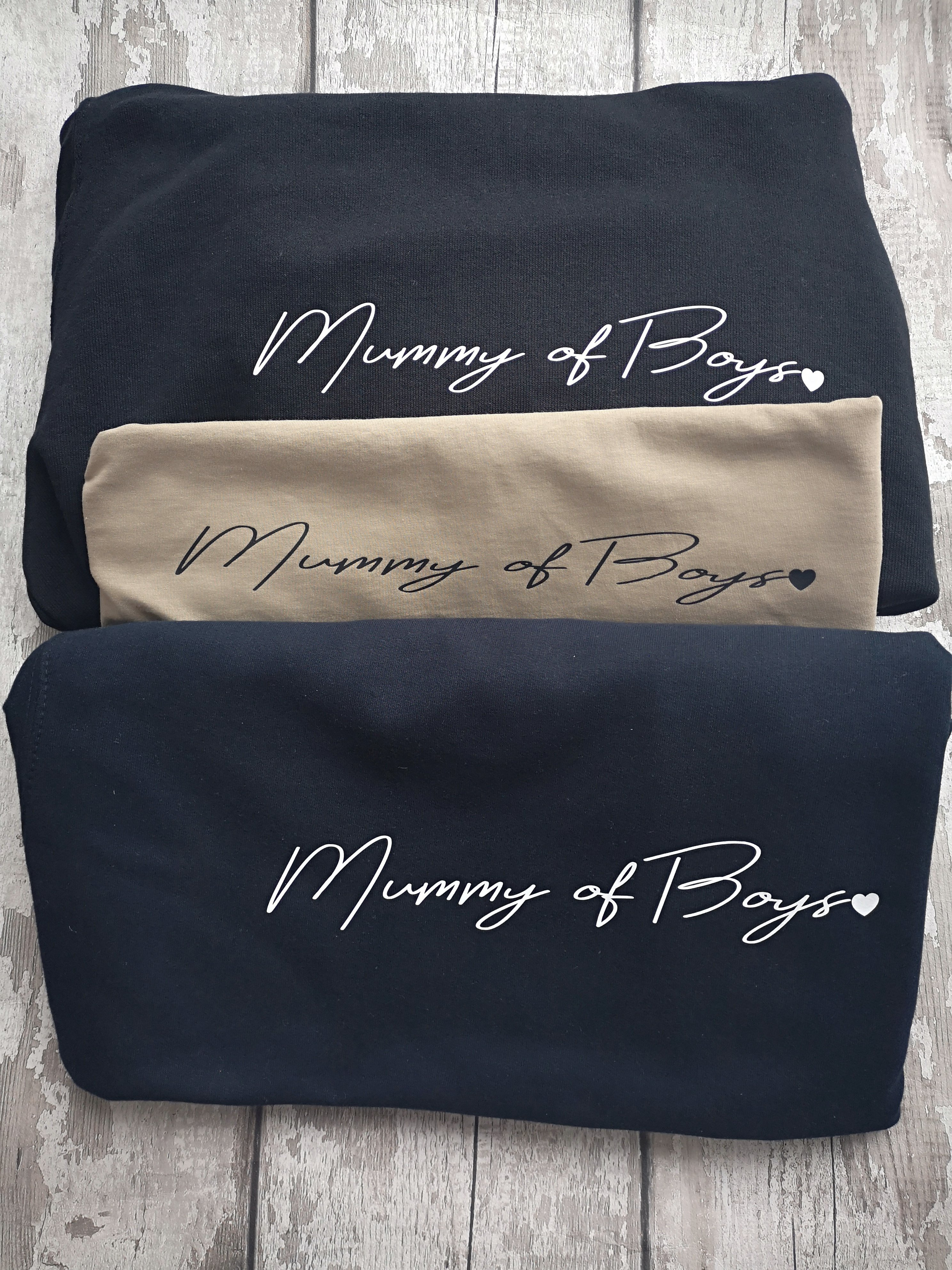 Mummy of boys signature hoodie / sweater