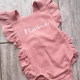 Personalised Frilly Romper