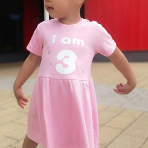 personalised birthday dress