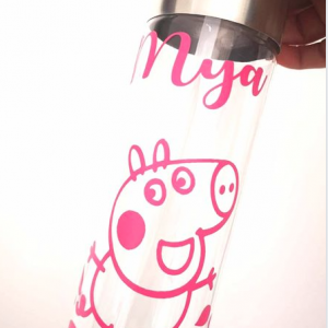 Personalised Peppa Pig Bottle