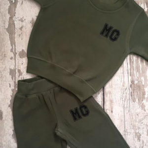 Personalised initial tracksuit