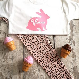 Personalised Bunny T-shirt