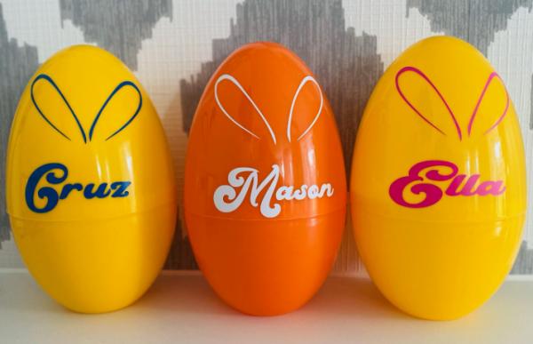 personalised Easter Eggs